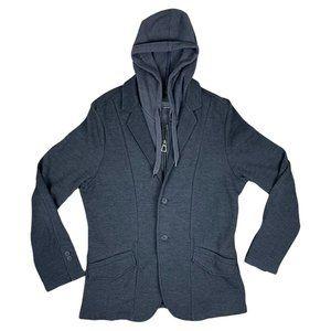 Howe Hoodie/Blazer Grey Jacket